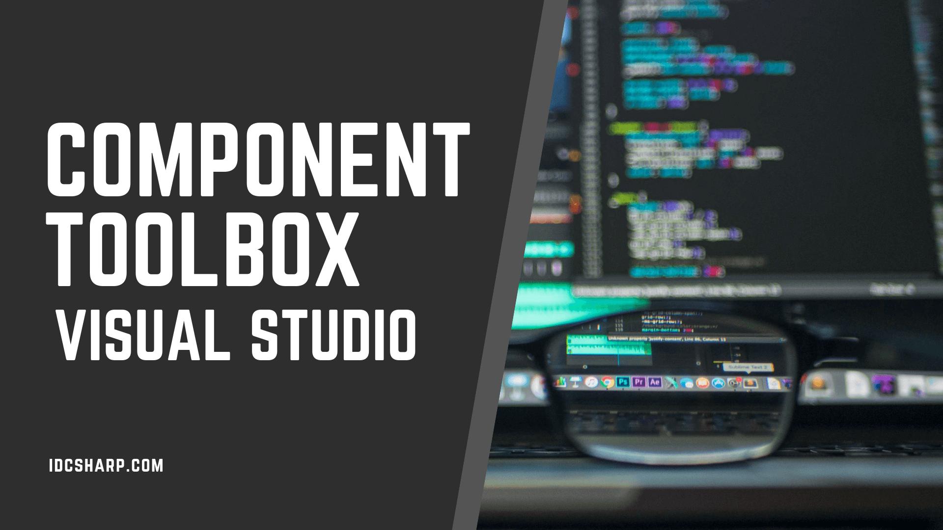 Component ToolBox pada visual studio C#