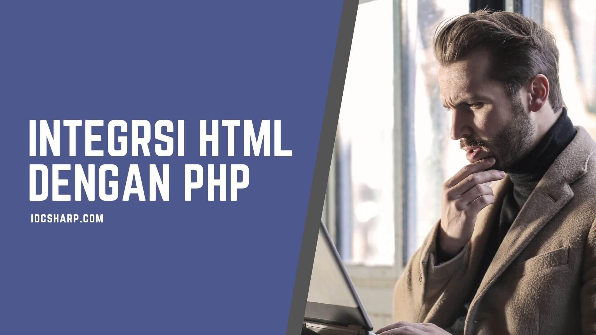 Implementasi HTML pada Pemrograman PHP